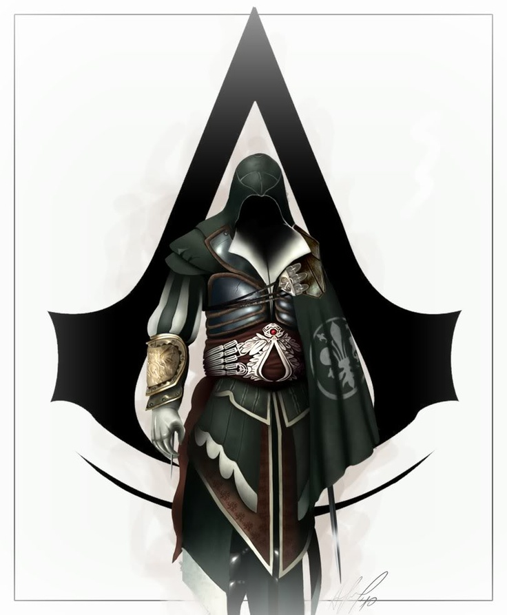 Ezio Armor of Altair worth what looks like the cape during ...
