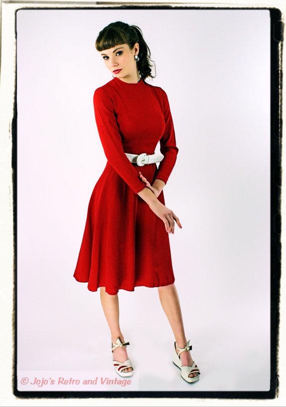 Ingenue Red Dress