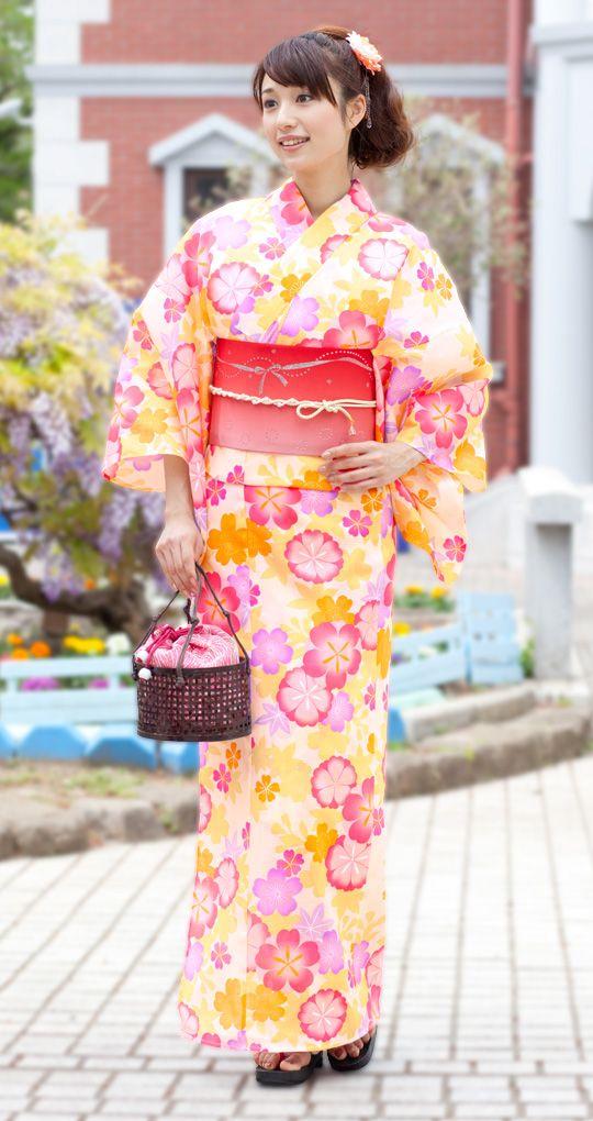 Summer Kimono, Yukata 浴衣屋さん.com