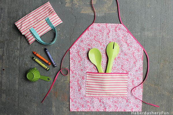 DIY.. Easy Toddler Apron