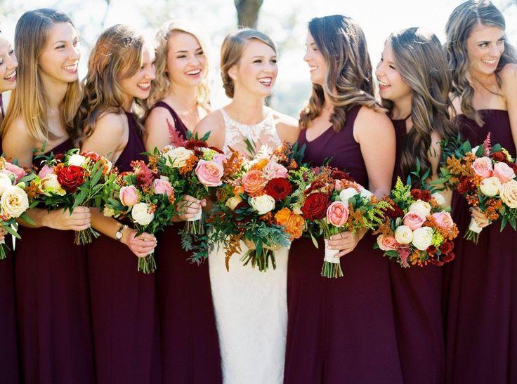 Best 25 Beige Bridesmaids Ideas On Pinterest: Best 25+ Merlot Wedding Ideas On Pinterest
