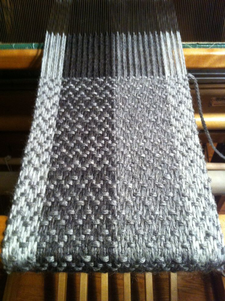 Weaving project - soft and warm - scarf