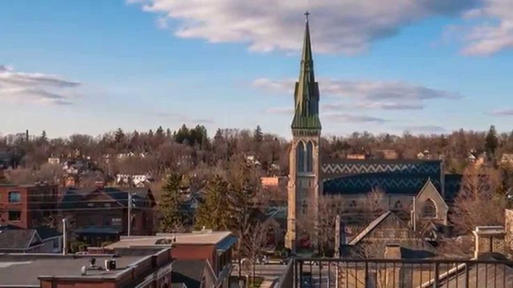 Downtown Guelph - Spring 2014 - A Timelapse Short