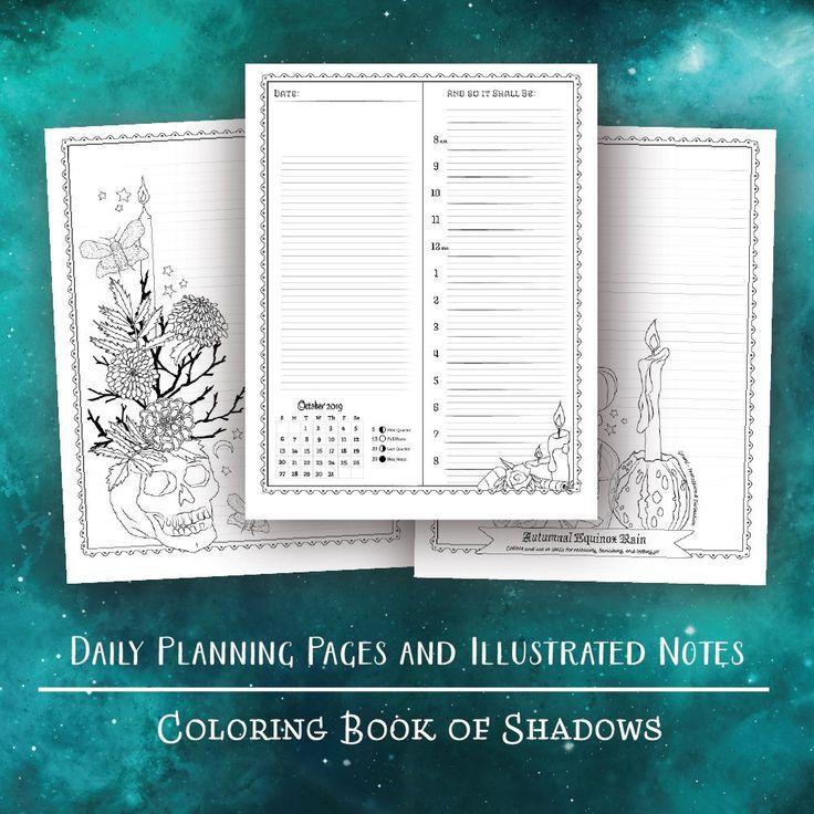 Planner for a Magical 2019 Printable PDF Etsy Calendar