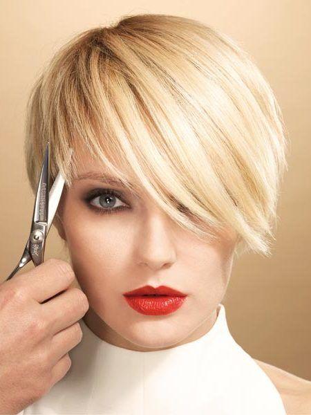 Kurze Haarschnitt-Ideen für dünner werdendes Haar