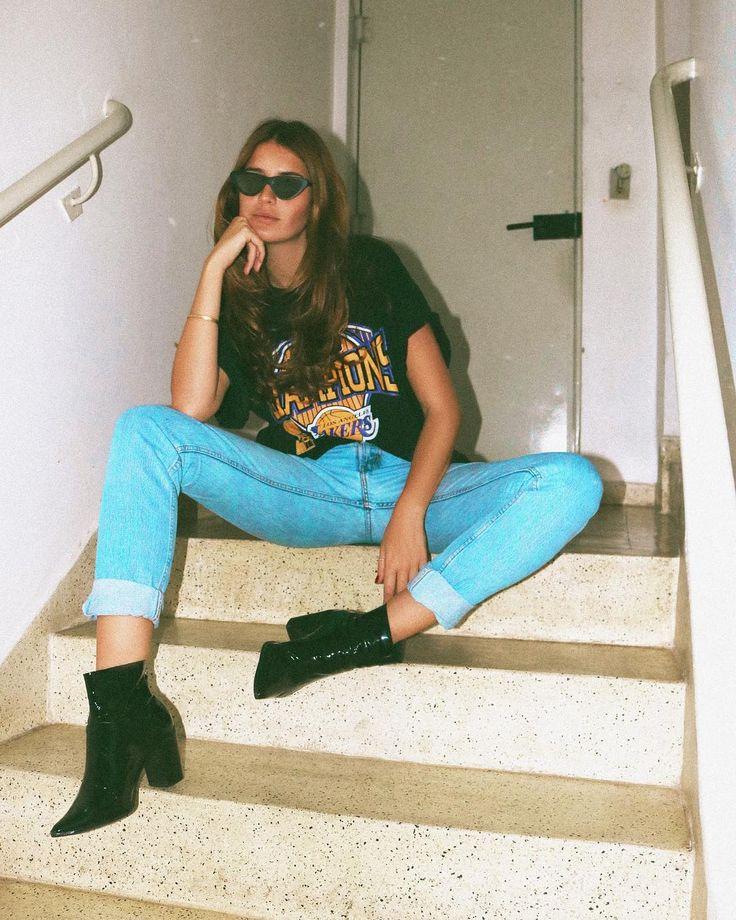 O jeans que não sai do corpo das it-girls e que não vai sair da sua mente.