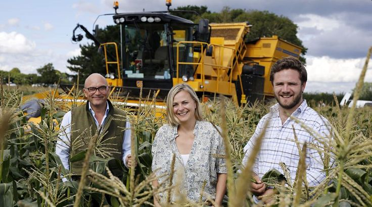 We are excited to be a part of BBC Two's upcoming Harvest 2015 programme, a true celebration of British Farming! It was our pleasure to welcome the team onto the farm and share how our vegetables are Grown With Love on the south coast. Image via Carl Pendle  #Harvest2015