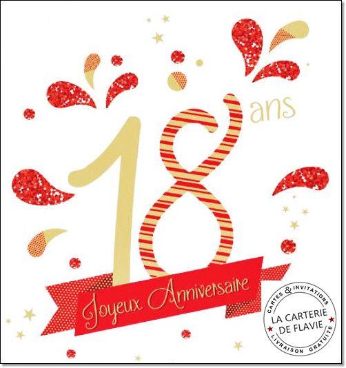 Carte D Anniversaire Gratuite A Imprimer 18 Ans Fille Luxury Carte Anniversaire 18 A Carte Anniversaire 18 Ans Carte Anniversaire Carte Anniversaire A Imprimer