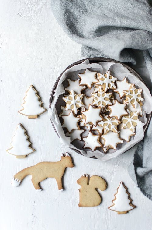 Christmas biscuits — Audrey Fitzjohn
