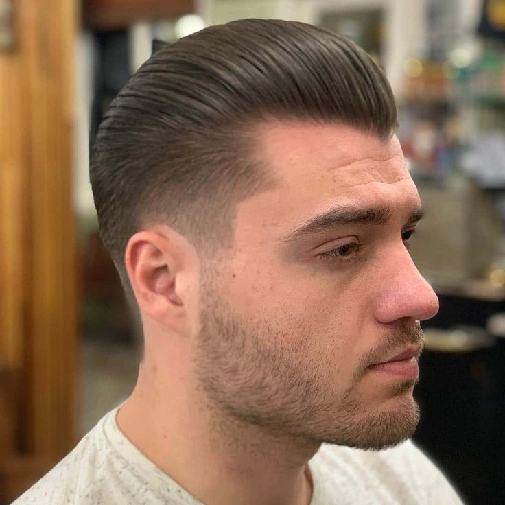 Men S Pompadour Hairstyle Men Haircuts Mens Hairstyles Pompadour Pompadour Haircut Haircuts For Men