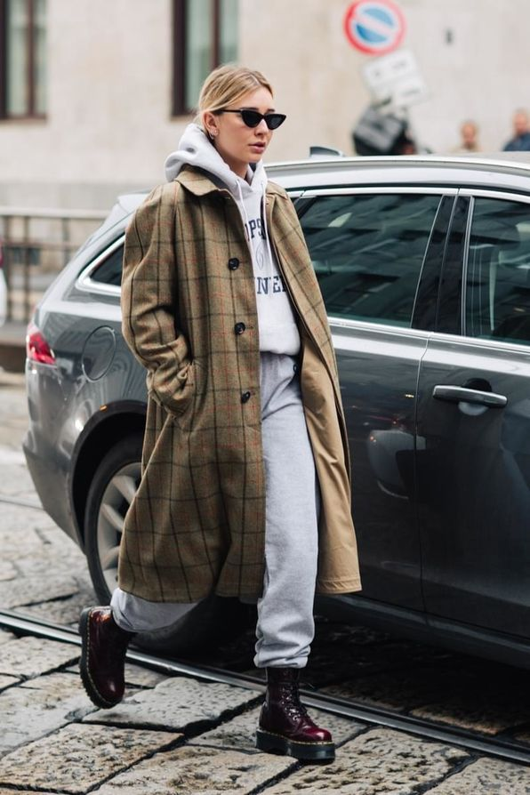 Street Style auf der London Fashion Week Herbst / Winter 2018-2019
