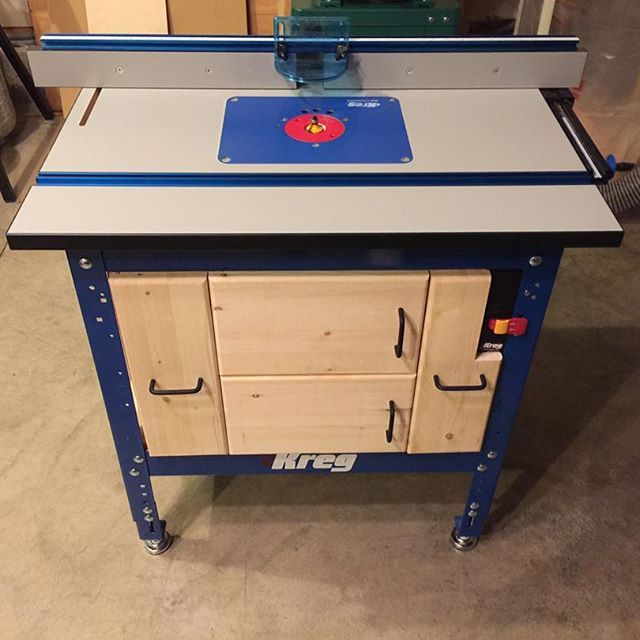 1066 best routers router tables images on pinterest tools made some cabinets for my router table routing tablekreg greentooth Choice Image