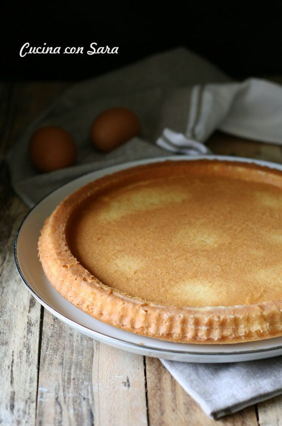 Base per crostata morbida, cucina con sara