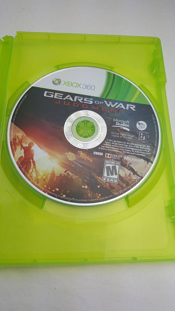 Gears of War Judgment by Epic for Microsoft Xbox 360 2013