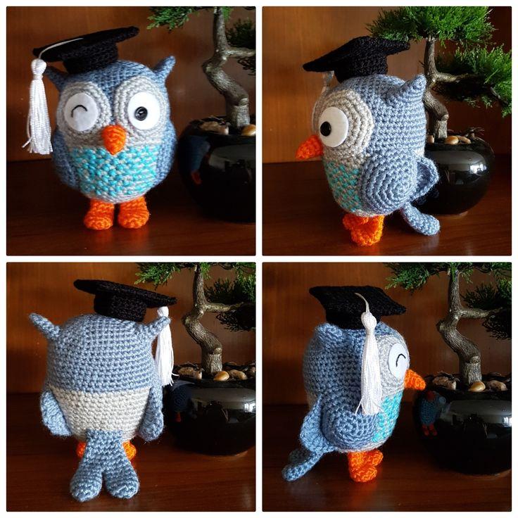 Mocho: Owl; amigurumi