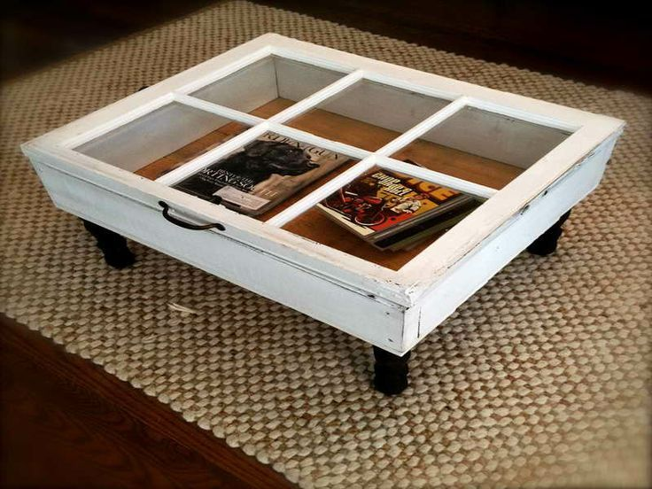 Window Coffee Table By DIY Furniture Projects
