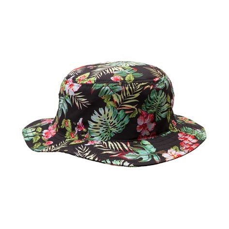 Shop for Floral Bucket Hat in Black at Journeys Shoes.