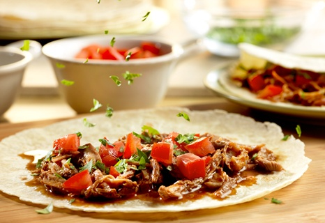 Campbell's Kitchen: Slow Cooker Mole-Style Pulled Pork