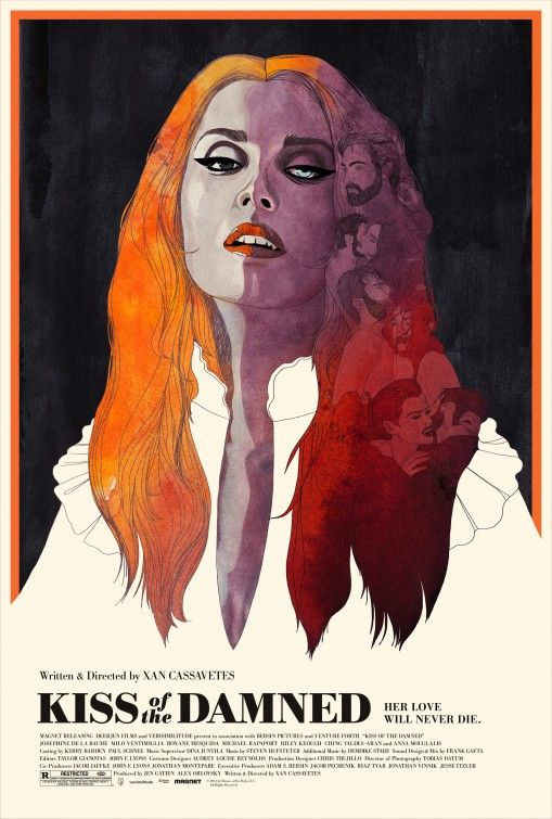 Kiss of the Damned  2013  Designed by Akiko Stehrenberger  who won the  SXSW  Horror Movie PostersHorror FilmFilm. 17 Best images about festival poster inspiration on Pinterest