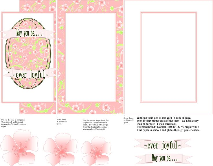 when cutting out my card projects, frequently I will ask you to continue your cuts to the very edge of your page of cardstock...even if your printer cuts it off - to make most sizes we need to use all 8.5x11 inches!