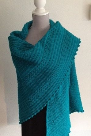 This beautiful crochet wrap took me 3 weeks to make it.