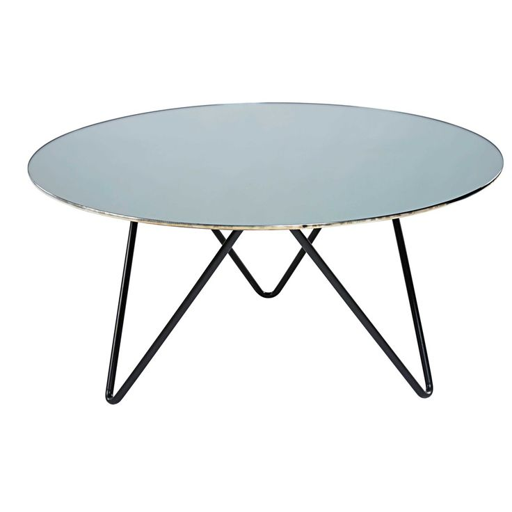 25 best ideas about table basse en verre sur pinterest - Maison du monde table beton ...