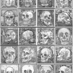 Skull Optical Illusions for Ship of Fools by Artist István Orosz