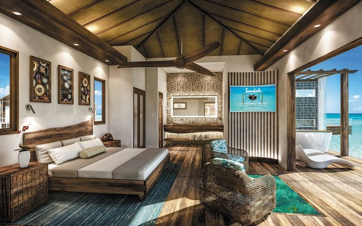 Caribbean Overwater Bungalows