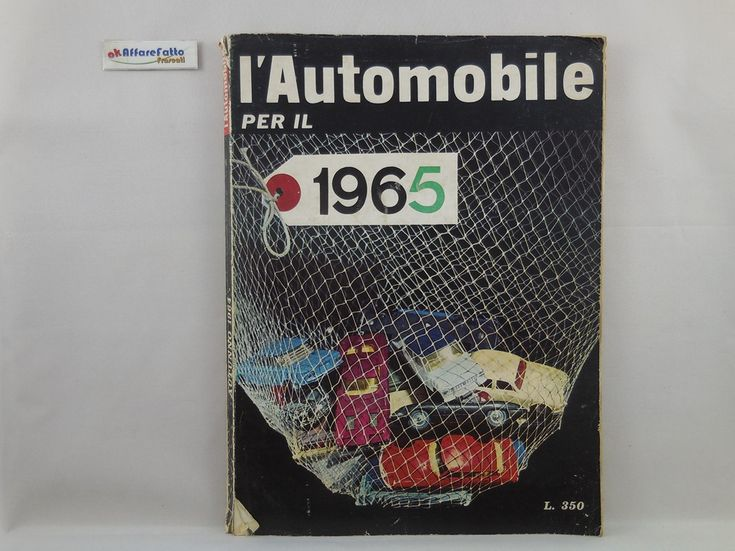 J 5492 RIVISTA L'AUTOMOBILE PER IL 1965 N 23 DELL'AUTUNNO 1964 - http://www.okaffarefattofrascati.com/?product=j-5492-rivista-lautomobile-per-il-1965-n-23-dellautunno-1964