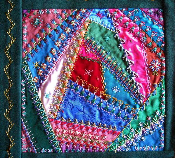 155 best Crazy quilts images on Pinterest Auction, Bag and Crafts