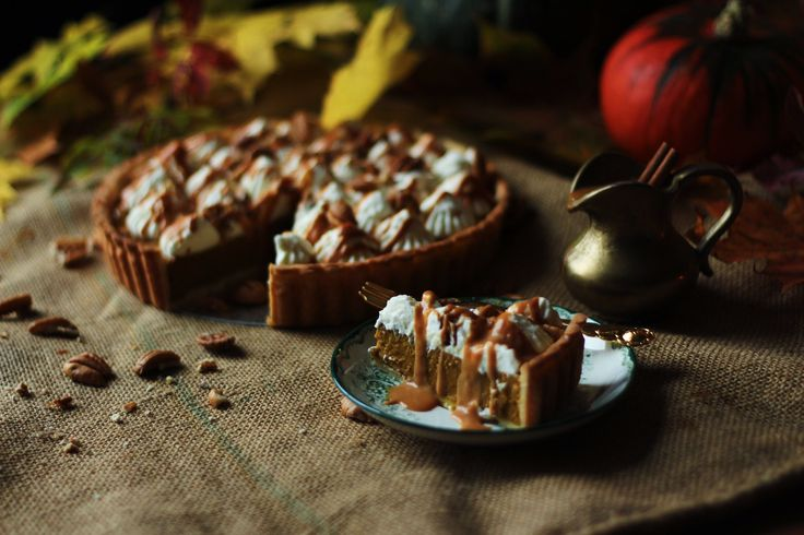 The best Pumpkin Pie ever! You can find the recipe on the blogg www.bakingbol.se