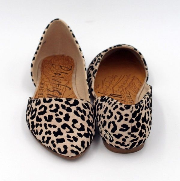 Madera in Natural Leopard by Blowfish