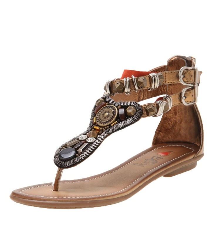 Exotic aztec style toe sandals that are beautifully crafted, featuring chainmail, beads and metal rings. They will look fabulous over a tunic and 3/4 pants or dress they up over a glamuras long tunic- Leather lining- Man made upper and sole...$69.95