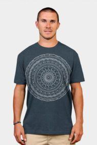 Geometric tribal mandala Mens T Shirts