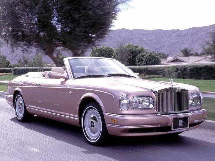 Classy. Early 2000s Rolls Royce Corniche-------------O