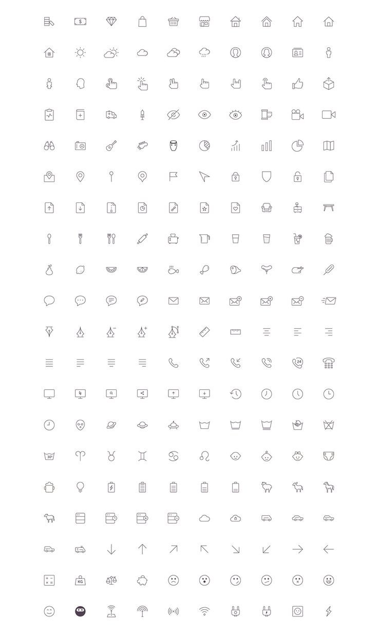 get full version here:https://creativemarket.com/vuuuds/261615-2061-nanoline-icons-70-off