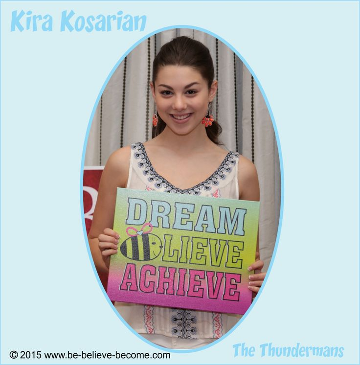 Kira Kosarian at the Kid's Choice Awards... | Be Believe Become