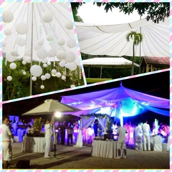 Transform ordinary spaces into lush, theatrical environments, #parachutetent is known as the premier event reception for a client that includes celebrities, royal families, CEO's and athletes. Parachute #Tent Known for his ability to transform the dreams of his clients into reality, parachute  is often sought out to create never-seen-before designs that serve as backdrops for some of the most memorable moments of their lives.  40 ft. diameter (white)  Rental/18,000.00 – Purchase /33,000.00…