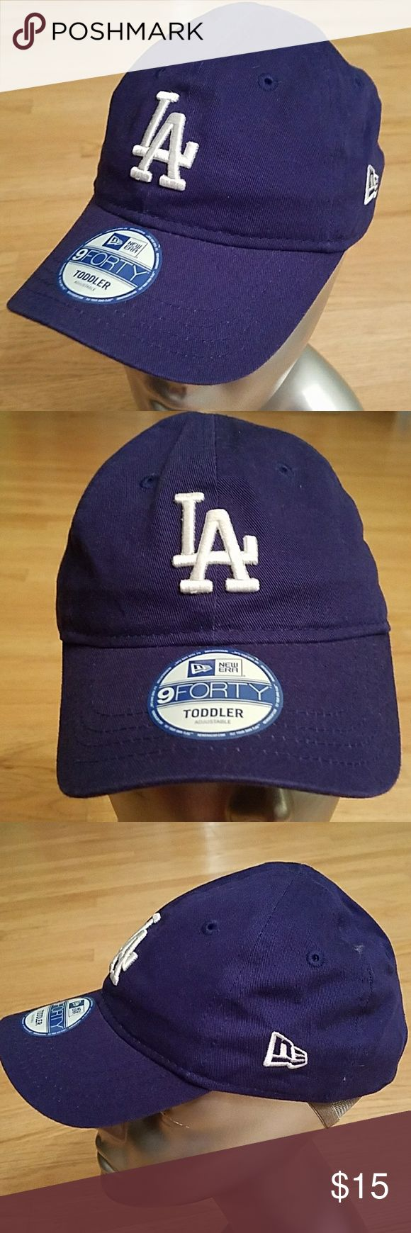 New Era LA Dodgers Toddler Stretch Fitted Cap Hat New Era LA Dodgers Toddler Stretch Fitted Cap.   Brand new with tags. Genuine MLB Merchandise New Era Accessories Hats