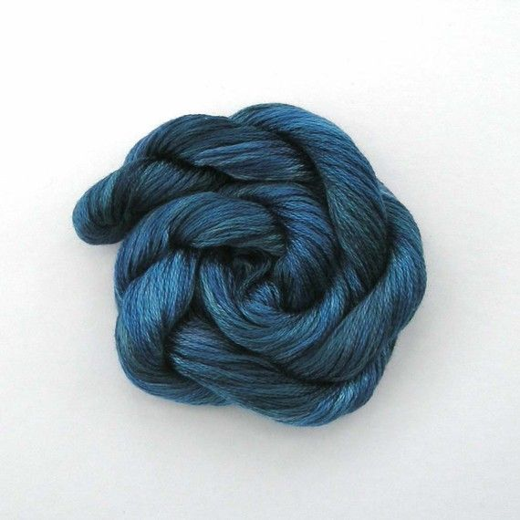 Embroidery yarn - indigo