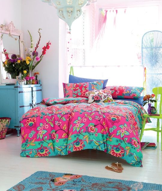 Idéias para Quartos Coloridos - Quartos para Meninas Adolescentes e Quartos de Casal