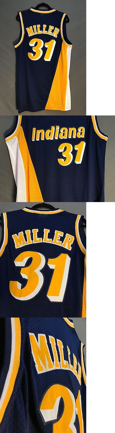 Basketball-NBA 24442: Nwt Reggie Miller #31 Indiana Pacers Throwback Basketball Jersey Stitched Men -> BUY IT NOW ONLY: $38.99 on eBay!