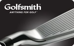 $50 Golfsmith Gift Card for $40!