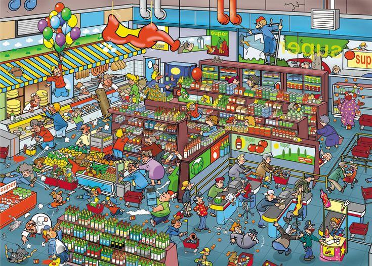 (2014-06) Hvad er forkert i supermarkedet?