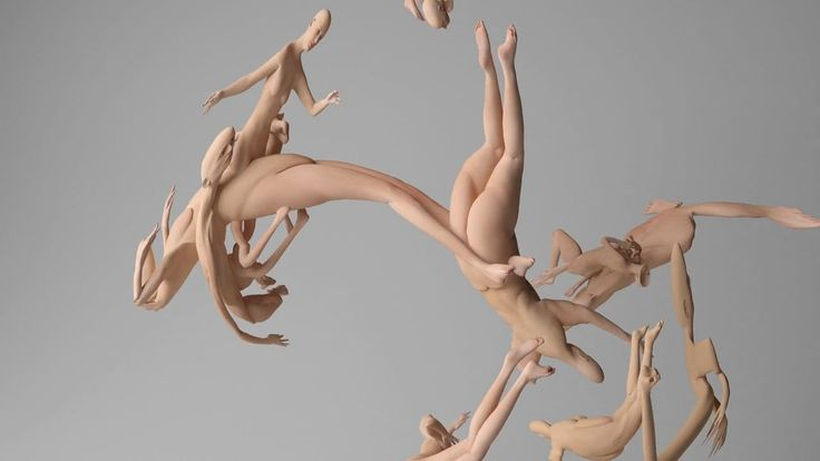 Amazing and strange animation by Mike Pelletier.  Coordinated Movement