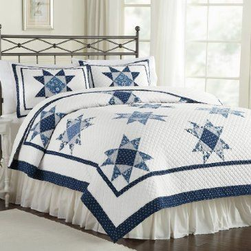 Pin by Robin Coons on Quilts | Quilts, Blue quilts, Queen ...