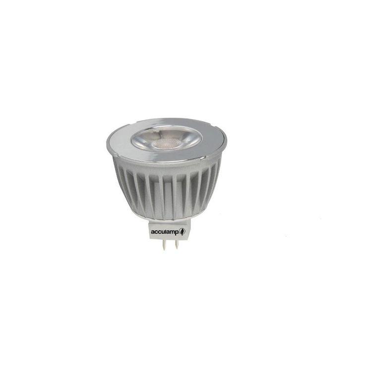 Acculamp 50 Watt Equivalent Cool White (4000K) 400 Lumen MR16 Dimmable LED Light Bulb