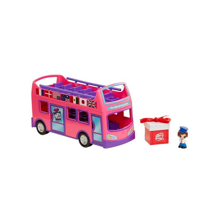 Gift 'Ems 3-pc. Tour Bus Set, Multicolor