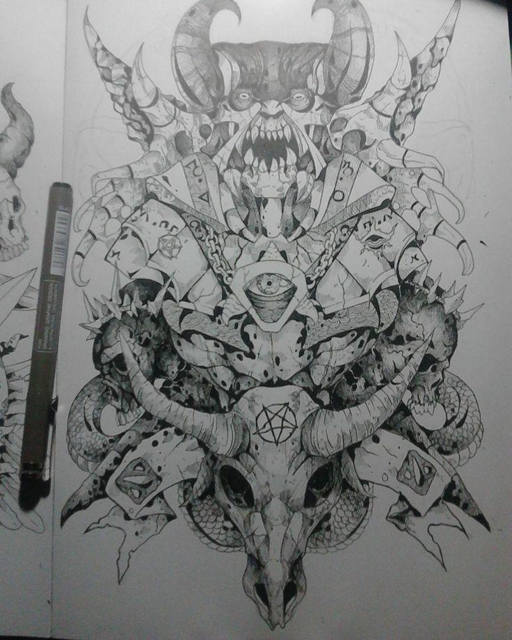 Doom bringer from dota2. Hope can inspire.. =)