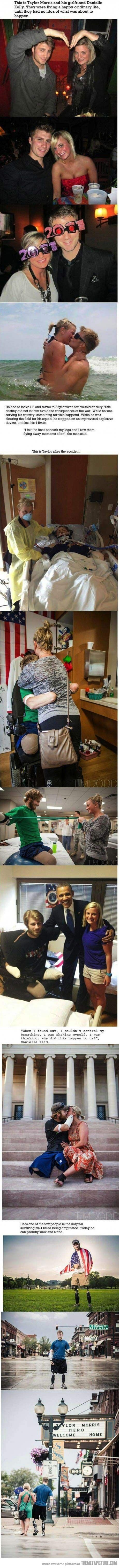 This is true love…